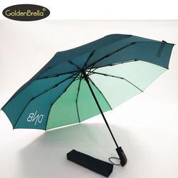 popular portable creative design automatic folding umbrella ten bone custom made umbrella