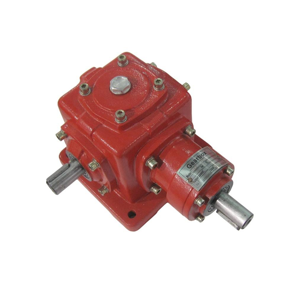 T Series 90 degree 2: 1 ratio right angle gearbox planetary reduction steering gear box power transmission drive