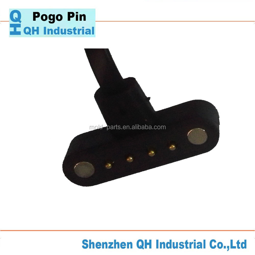 Shenzhen Spring Load Pin Factory Hot Sale High Class Precision 2 Pin 3 Pin Laptop Magnetic Power Connector