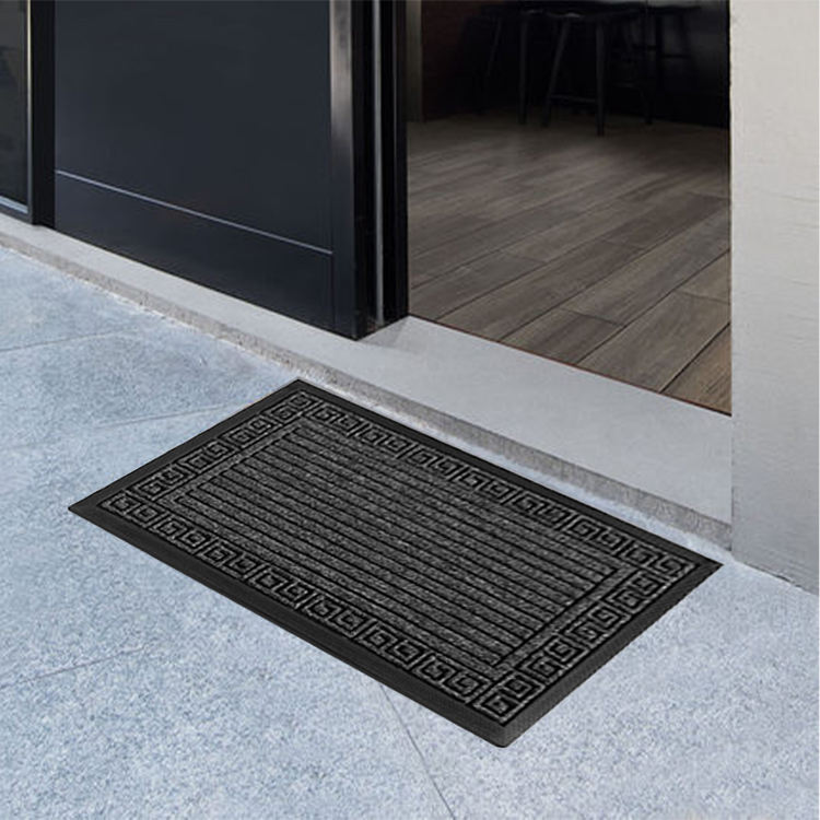 Taizhou Wholesale Anti Slip Carpet Bath doormat bedroom cheap fancy door mat