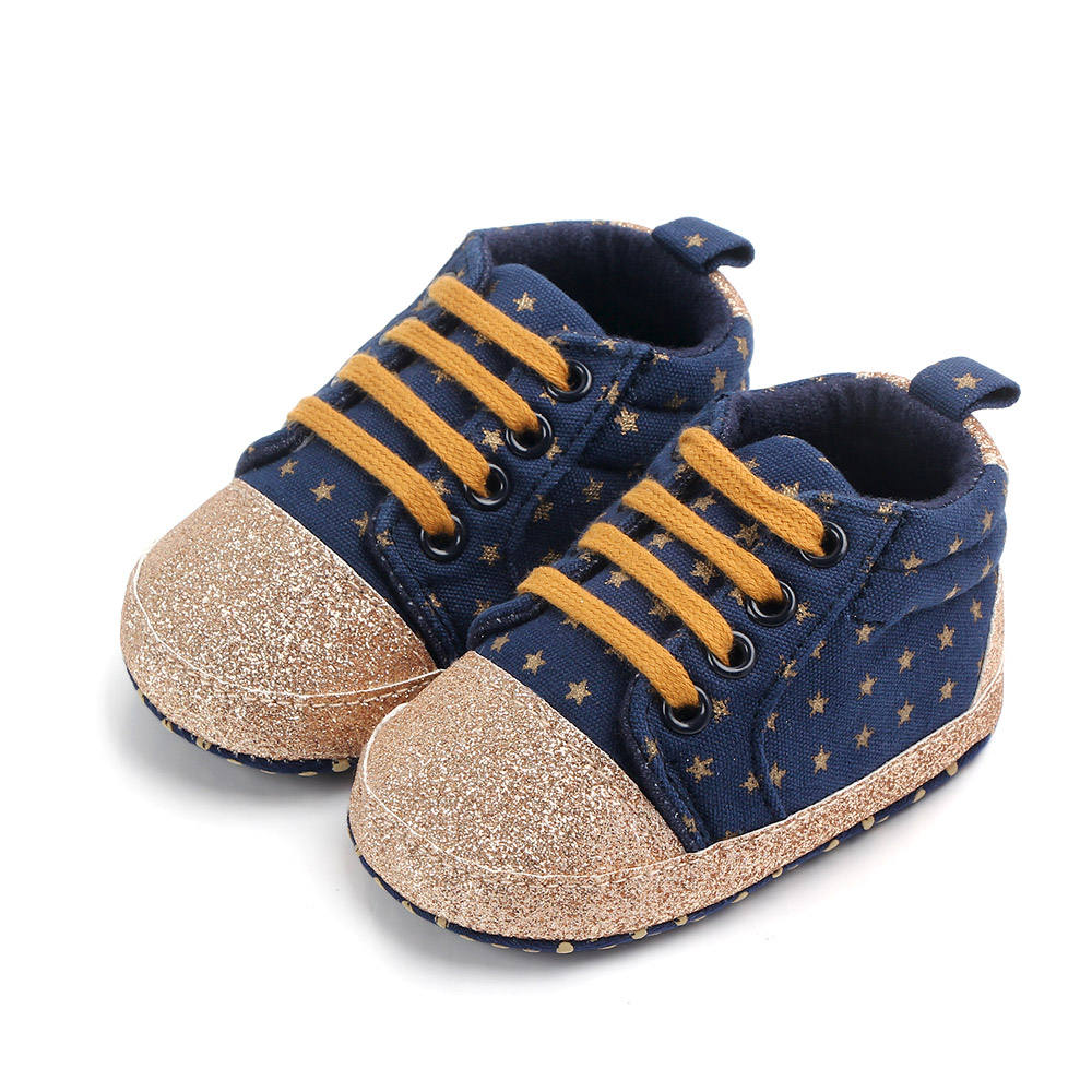 New arrival anti-slip soft sole prewalker unisex baby shoes
