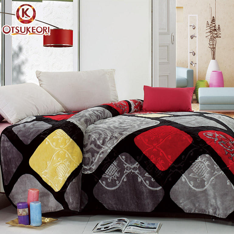 Natrure life Super soft plush adult 100% polyester thick blanket