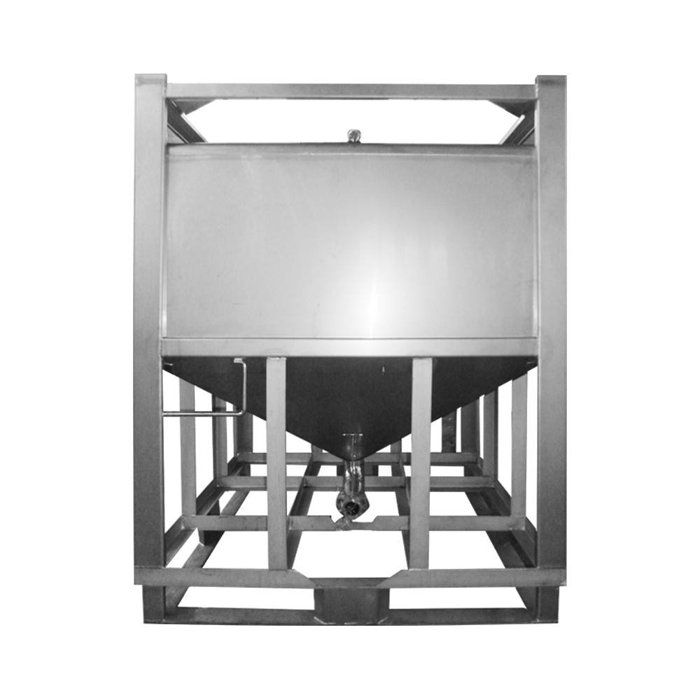 Hot sale stainless steel square 200 gallon water tank