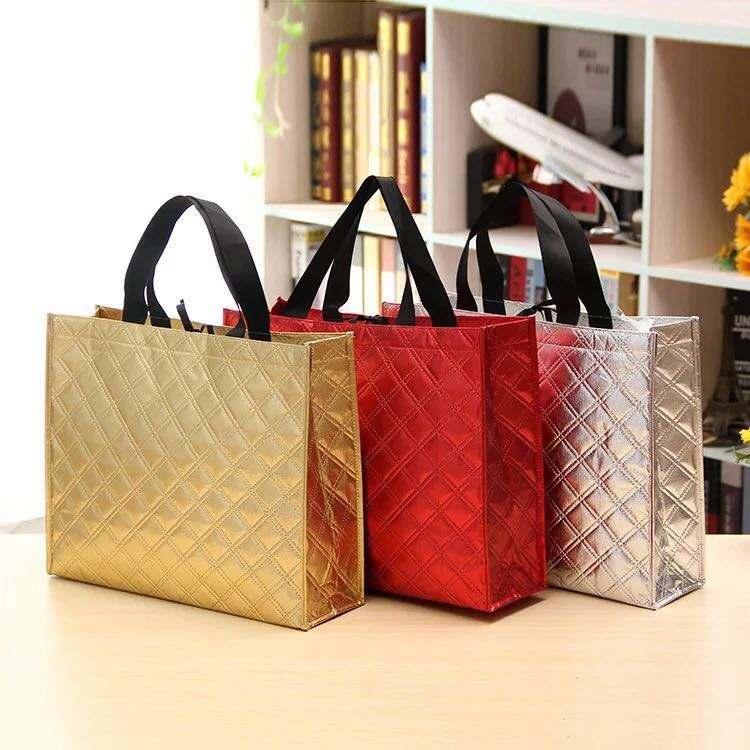 Foldover Convertible Oversize Shine Leather Clutch Handbag Metallic Gold Silver