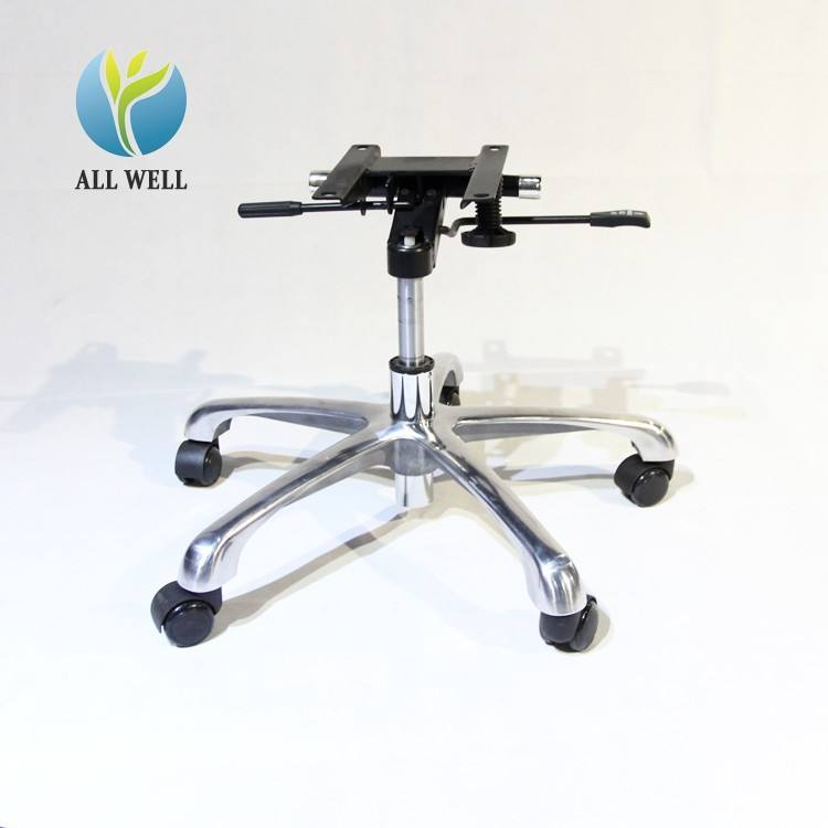 stainless steel swivel part/office chair base