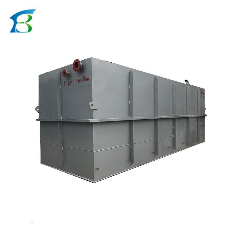 50 cbm/Tag biologische reaktionsbehälter für abwasserreinigung