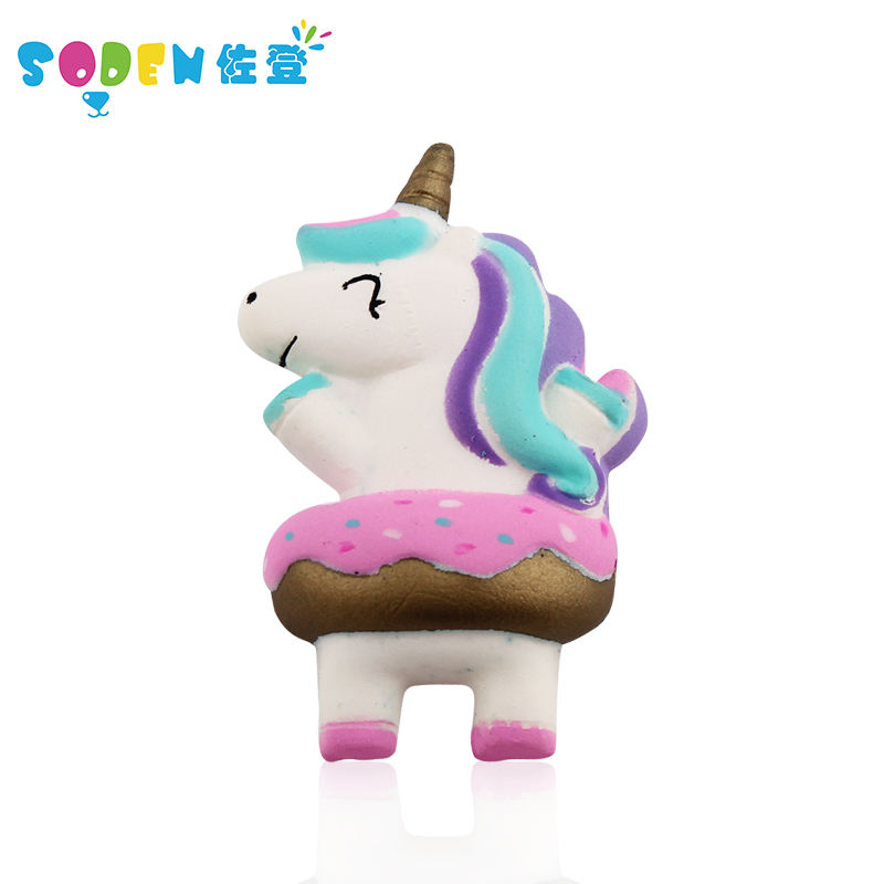 Hot Sale Secented Lembut PU Unicorn Anti-Stres Cute Lambat Rising Squishes Mainan