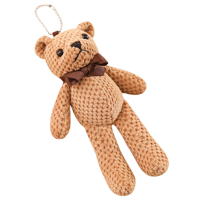 Chinese Wholesale Cheap Teddy Bear Hanging Plush Toys as Backpack Jewelry in 2019