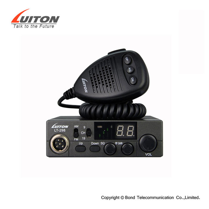 27 mhz Radio du Fabricant Chinois 12 V/24 V voiture talkie-walkie
