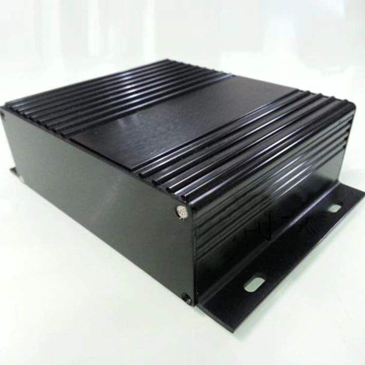 Electronic Shell Prototype Extruded Electronic Aluminum Enclosure/ Aluminum Extrusion Enclosure PCB Housing Box 104*28mm