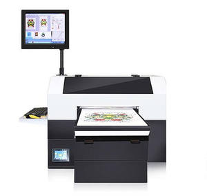 High quality logo printing machine A3 digital t-shirt printer machine