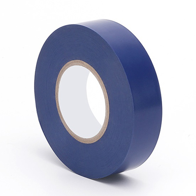 PVC Insulating Electrical Adhesive Tape Blue Color