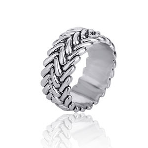 Wholesale Fashion classic retro Motorcycle Tire Texture O Ring Ancient Silver Men women Biker Charm Bicycle Buddha Jewelry Rings