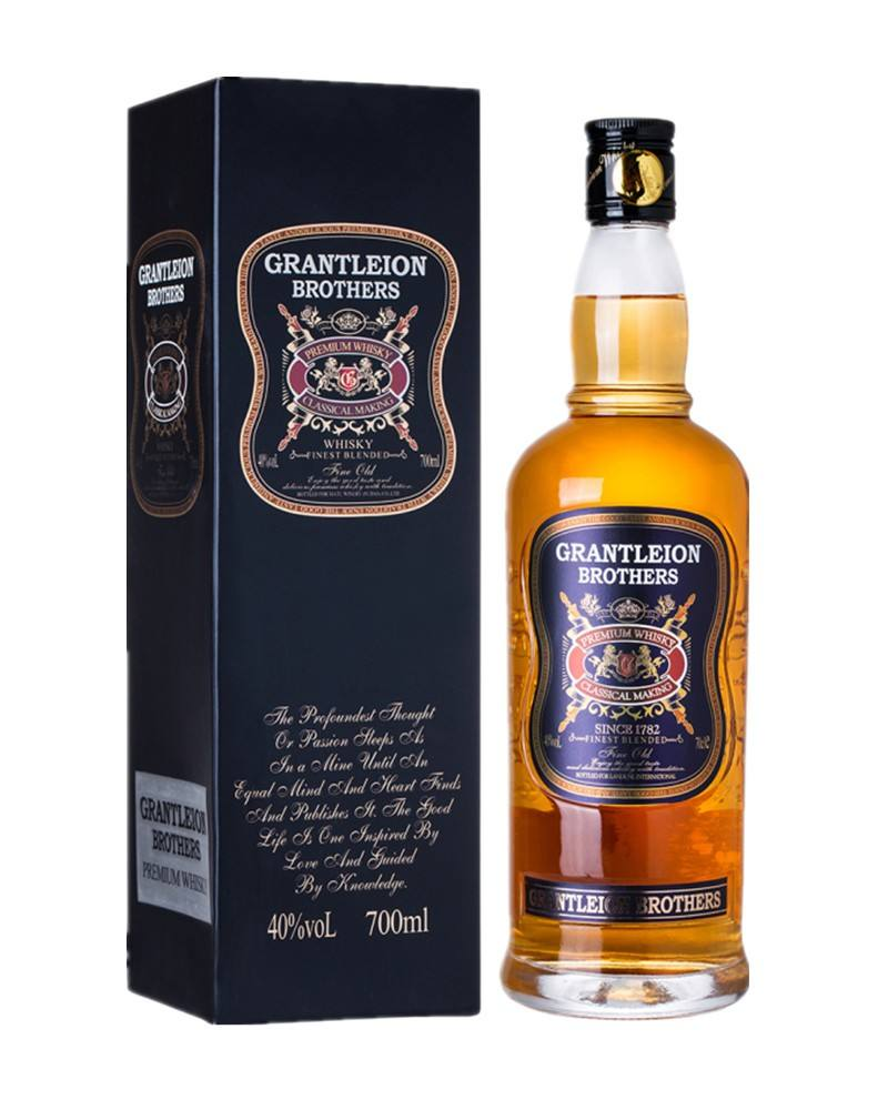 750ml Whisky GRANTELION Whisky London whisky Whiskey