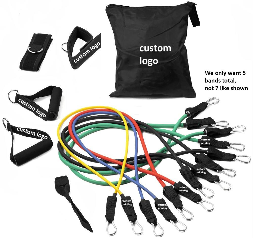 Weerstand <span class=keywords><strong>oefening</strong></span> bands set perfect home gym kit