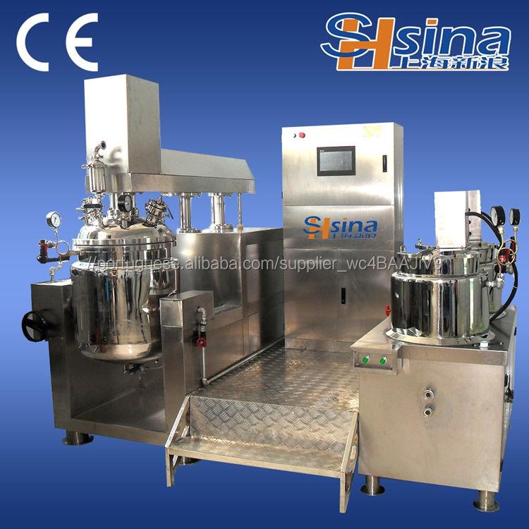 Alta Qualidade Pomada De Homogeneização <span class=keywords><strong>V</strong></span>ácuo tomada de manteiga máquina de leite de Emulsão