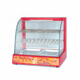 Wholesale Commercial 220V Electric Glass Food Catering Equipment Bread Hot Dog Pizza Display Warmer Chips Hot Showcase