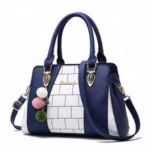 custom new model high quality ladies fashion leather handbags 2020
