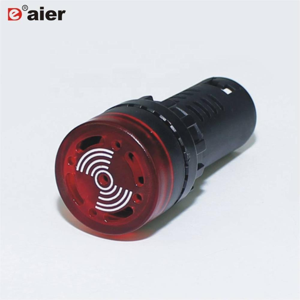 22MM Mounting Size Illuminated Plastic Alarm Indicator Light