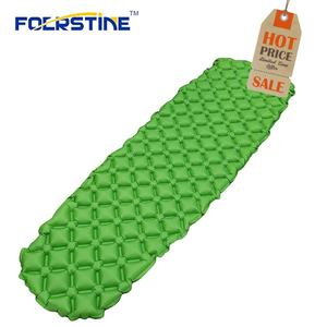 Camping Easy Carry Inflatable beach mat with inflatable pillow