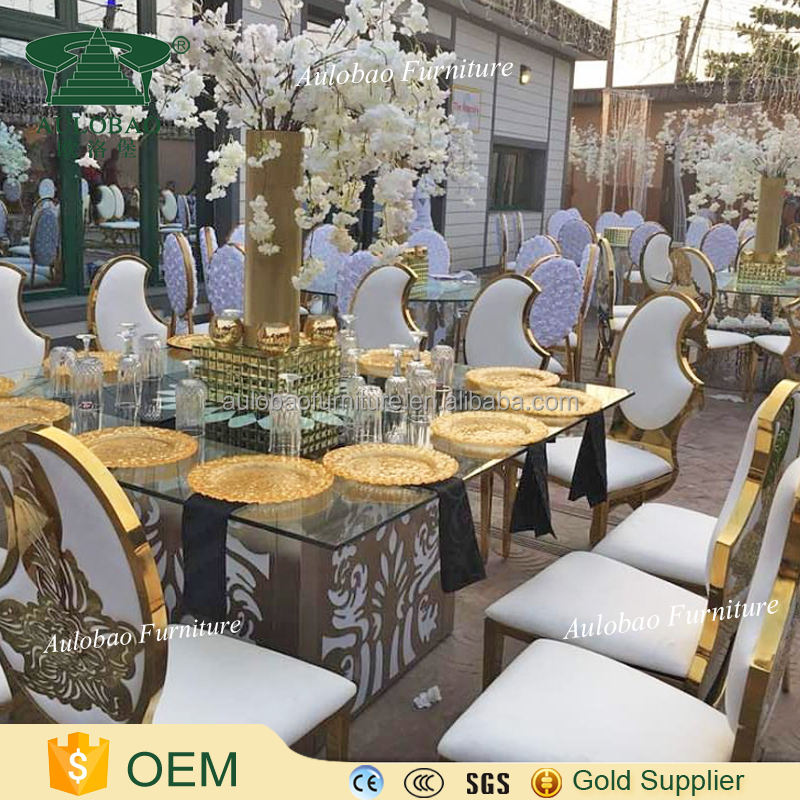 Factory sales led light cheap party tables and chairs for sale