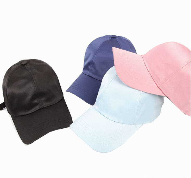 Fashion baseball cap most attractive satin hat welcome OEM