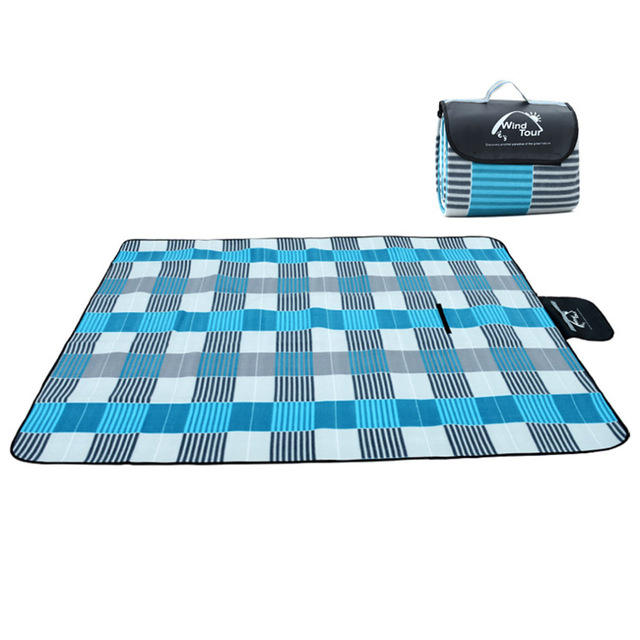 180 x 120cm Picnic Blanket Waterproof Outdoor Blanket Camping Mat Beach Lounger