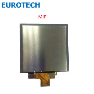OEM IPS Vierkante lcd 4.0 inch 720*720 YY1821, MIPI interface LCD module met Capacitieve touchscreen ET040PW03-G, 300 nits
