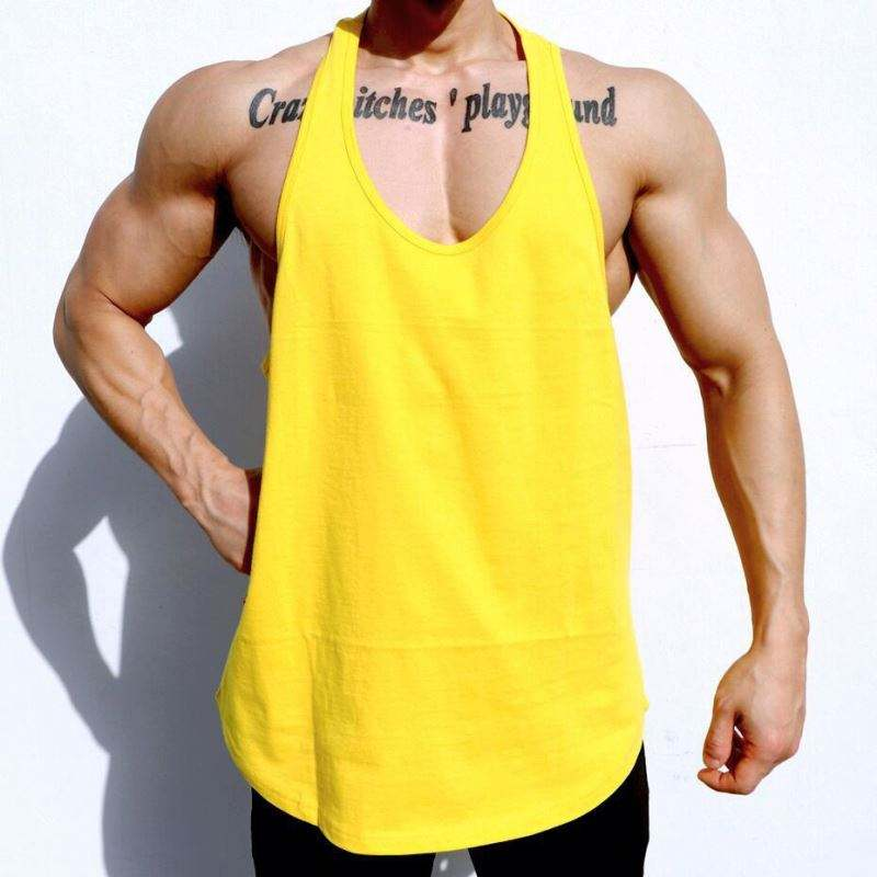 MOQ 1 Pcs Logo Printing Sports Wear Mens G Unit Tank Top