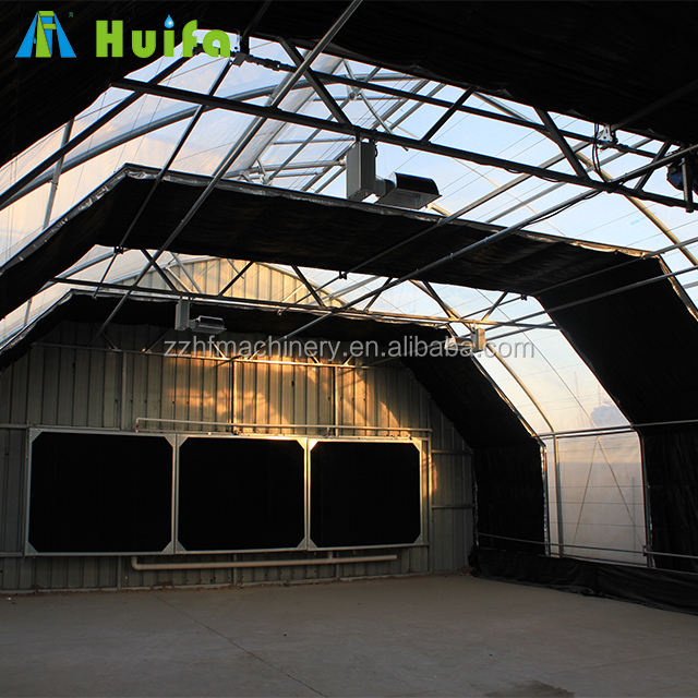 Huifa Fully Automated Light Deprivation Greenhouse
