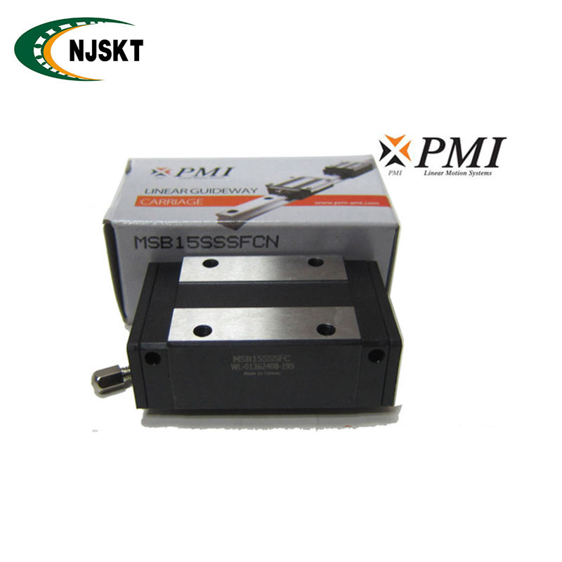 Original PMI linear ball bearing guide MSB25S