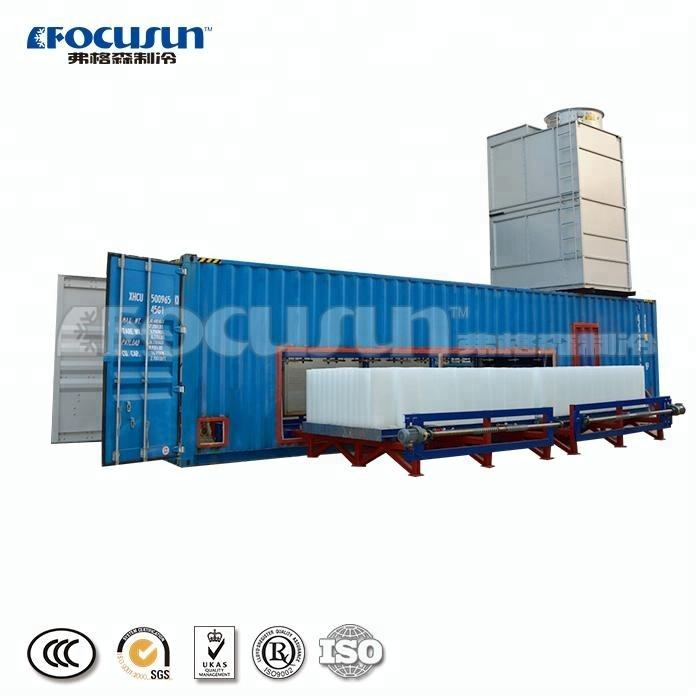 FOCUSUN low price high quality Industrial Ice Block Machine / Containerized Industrial Ice Block Making Machine