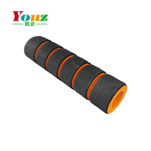 Hot sale double color Soft Nbr Foam handle grip