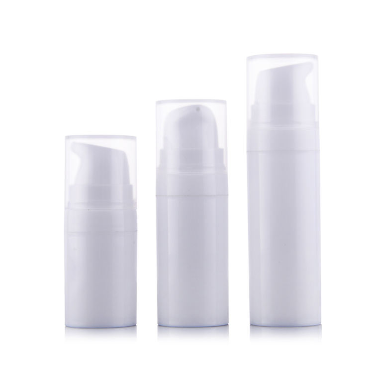 5ml 10ml 15ml small PP buckle vacuum plastic white bottle
