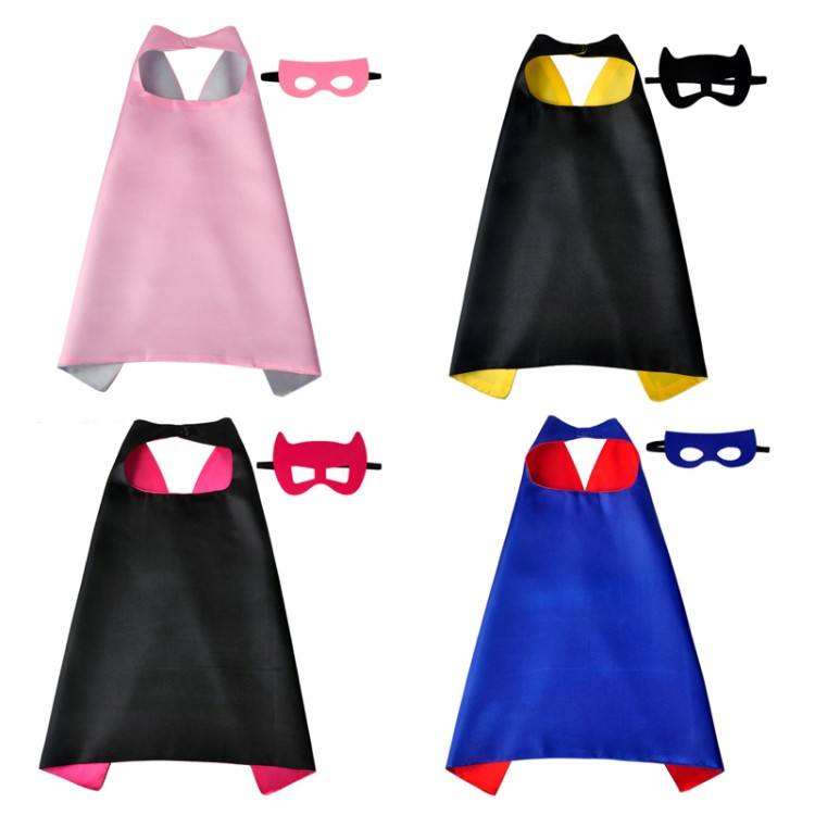 High Quantity Girls Superhero Cape Set with Your Logo