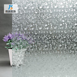 Sun protection lamination tinted shatterproof frosted 3d tempered glass window film