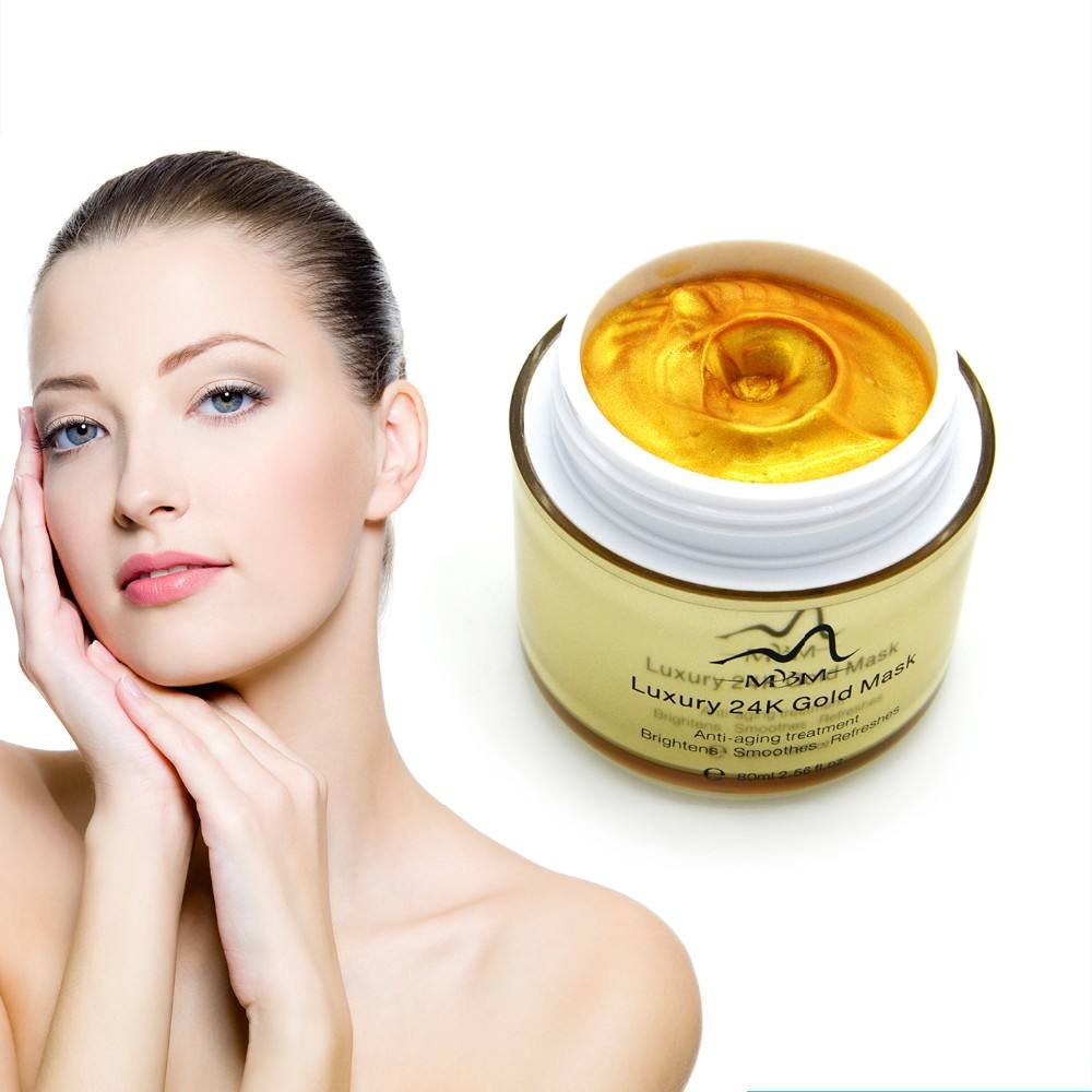 Deep Moisturizing and Wrinkle Removal Whitening Gold Facial Mask
