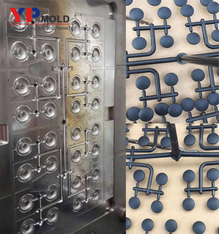 customized Yuyao factory Plastic injection snap button mould/fastener cell mold