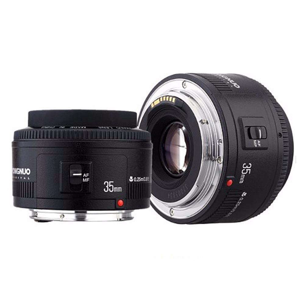 Yongnuo YN35mm F2 Wide-angle camera lens Large Aperture Auto Focus Lens For Canon EF Mount