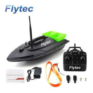Flytec Factory 2011-5 Remote Control Boat 500M Fishing Bait Boat With Double Motors Attracting Fish LED Lights For Fishing