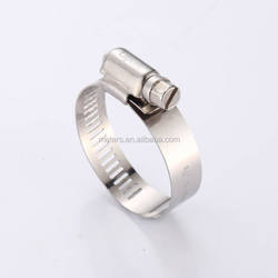 High Pressure American Type Stainless Steel Automotive Worm Drive Spring Pipe Hose Clamp