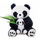 plush mom and baby/Mother and Baby Teddy Bear Stuffed Animals