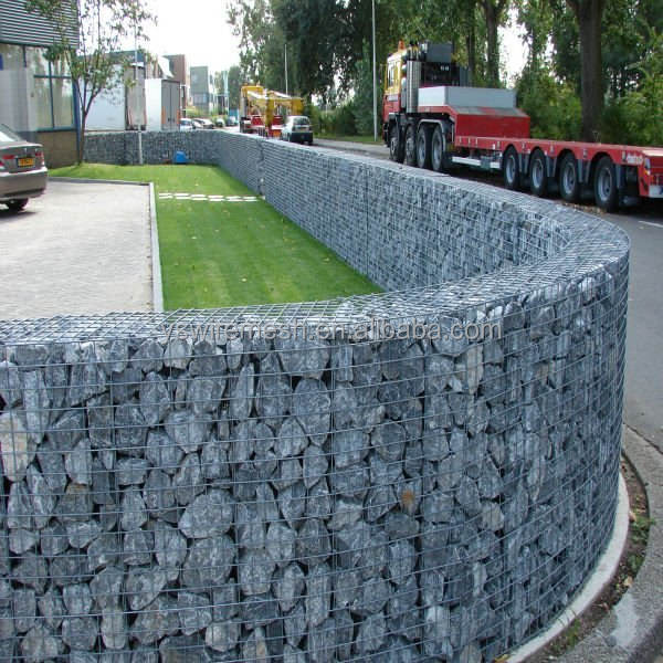 Popular Welded Gabion Box For Landscape Construction And Retaining Walls Stone Wire Mesh Hexagonal Wire Mesh