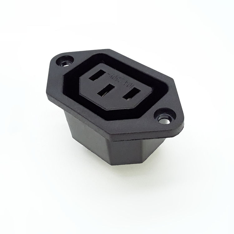 למעלה איכות ac מחבר c14 c13 מפרצון ac כוח מפרצון socket outlet iec c13 שקע c13 לשקע
