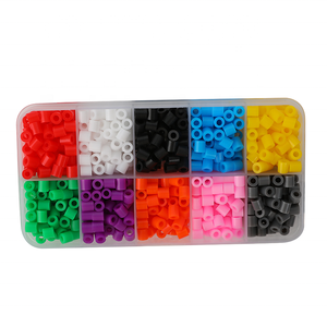 DIY 900 pcs 5mm ironing beads diy plastic perler beads peg board for Child Gift