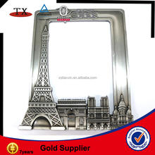 Paris metal souvenir photo frame