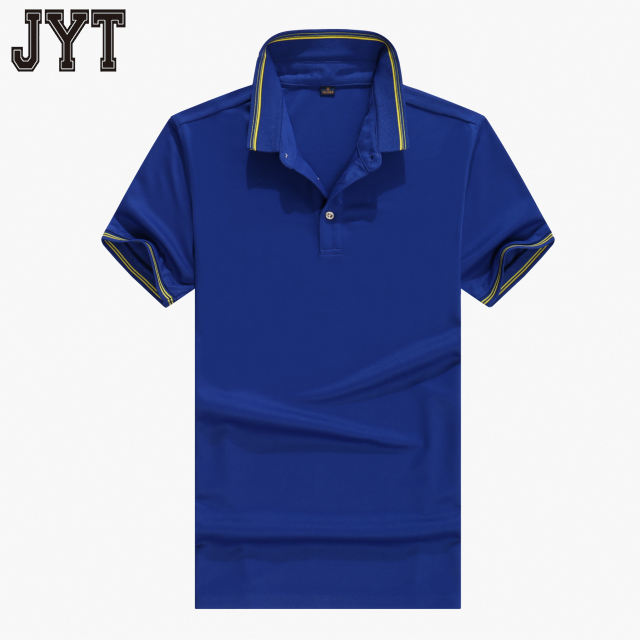 80% polyester 20% cotton knit easy care sport wear fabric collar blank polo shirts for mens