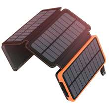 Hot Selling High Quality Solar Energy Panel Charger For Mobile Phone Universal 50000Mah Solar Power Bank 2 Usb