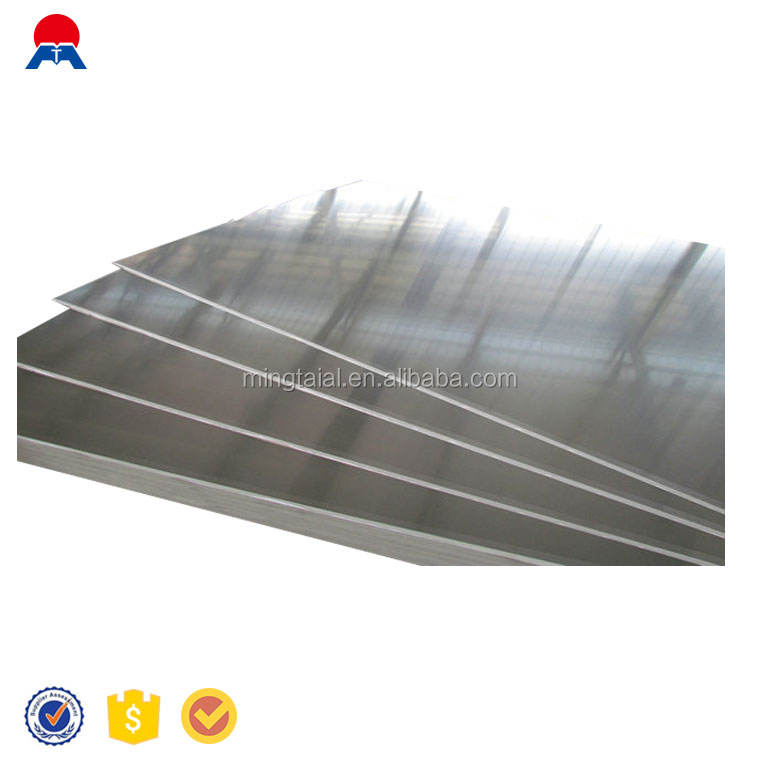 Aluminum sheet for roof refrigerator accessory reflector