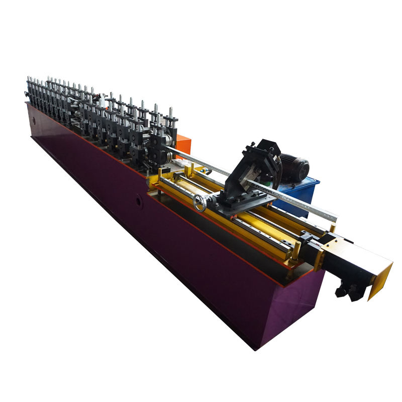 T bar Ceiling Cross T Grid Light Keel Roll Forming Making Machine